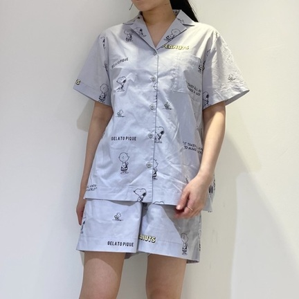 【PEANUTS】夏にさらっと快適なコットン100%のパジャマシリーズ