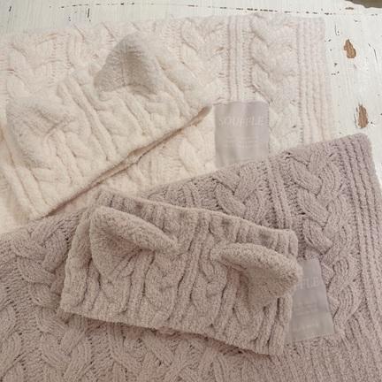 シンプルで使いやすい♡アラン編みシリーズ