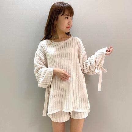 見た目も着心地もエアリーなリブ編みシリーズ