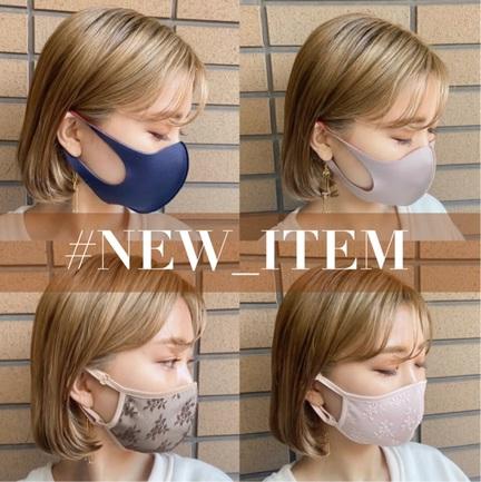 ●  オリジナルマスク 着用比較 ●