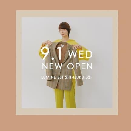 【ルミネエスト新宿店NEWOPEN!】OPEN記念イベントのご紹介