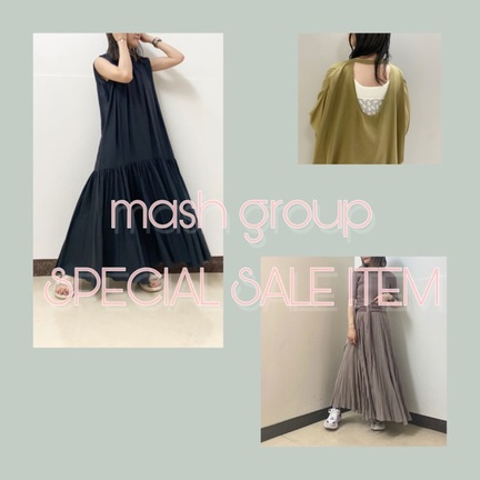 mash group SPECIAL SALE!!!