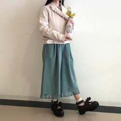 POETIQUE❤︎春のチョコミントコーデ