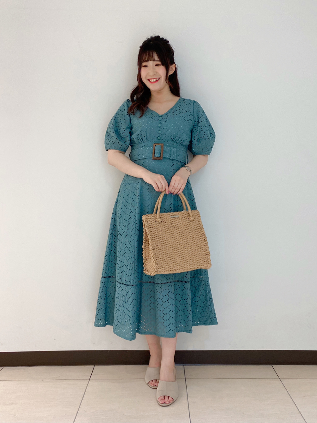 服部(157cm)