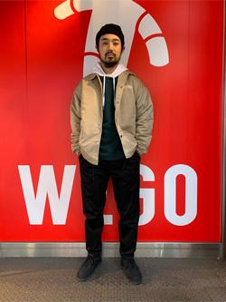 WEGO 上野店 加藤の服