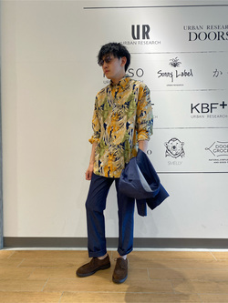 [URBAN RESEARCH Storeタカシマヤゲートタワーモール店][山下 裕平]