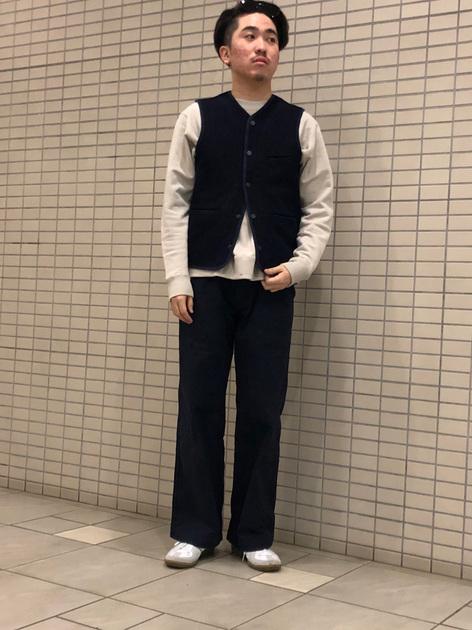 [URBAN RESEARCH 札幌ステラプレイス店][上野 友暉]