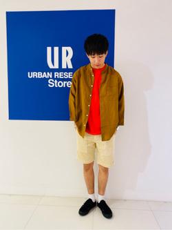 [URBAN RESEARCH Store 近鉄あべのハルカス店][Takumi Kaino]