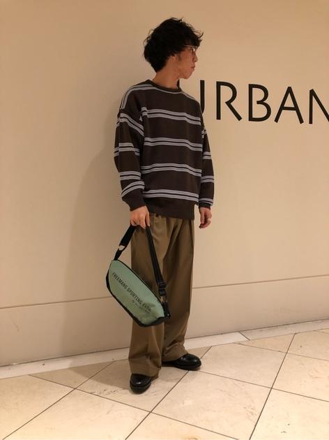 [URBAN RESEARCH なんばCITY店][篠﨑 裕人]