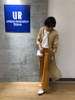 [URBAN RESEARCH Storeタカシマヤゲートタワーモール店][前田結衣]