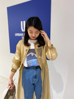 [URBAN RESEARCH Store 近鉄あべのハルカス店][宇野 優子]
