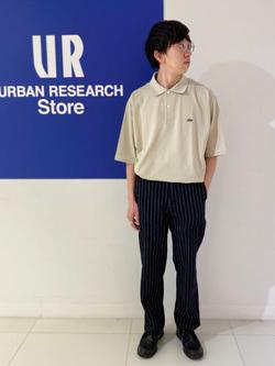 [URBAN RESEARCH Store 近鉄あべのハルカス店][kuriyama kousuke]