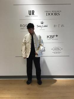 [URBAN RESEARCH Storeタカシマヤゲートタワーモール店][山口 凜太郎]