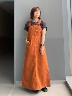 Lee アミュプラザ博多店のMISAKIさんのLeeの【15%OFFクーポン対象】オーバーオール スカートを使ったコーディネート