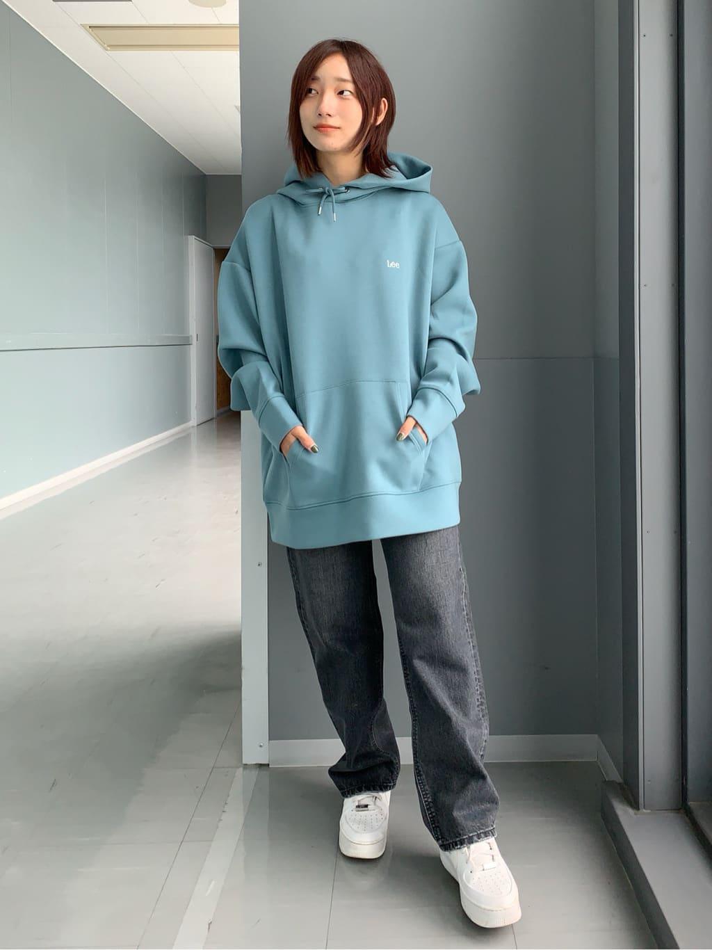 Lee アミュプラザ博多店のMISAKIさんのLeeの【デニム15%OFFクーポン対象】【otonaMUSE掲載】【毎日履きたい】ボーイズストレートパンツを使ったコーディネート