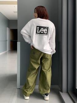 Lee アミュプラザ博多店のMISAKIさんのLeeのミリタリー ベイカーパンツを使ったコーディネート