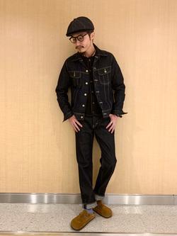 成田空港店(閉店)のYuukiさんのLeeの101J デニムジャケットを使ったコーディネート
