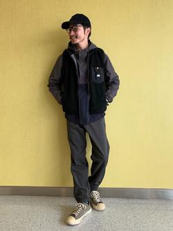 成田空港店(閉店)のYuukiさんのLeeの終了【シークレットセーール!!】DUNGAREES スタンダード イージーパンツを使ったコーディネート