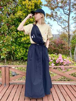 アミュプラザおおいた店のSHOPANさんのLeeの【Lee×GRAMICCI(グラミチ)】ロングスカートを使ったコーディネート