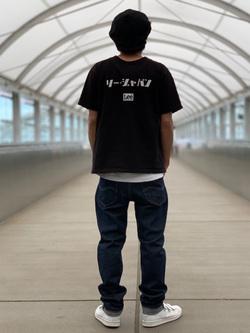 成田空港店(閉店)のKazuhikoさんのLeeのAMERICAN RIDERS 203 テーパードを使ったコーディネート