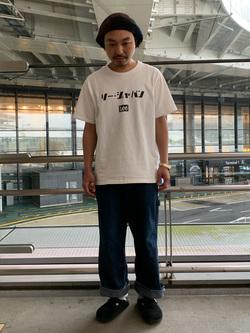 成田空港店(閉店)のKazuhikoさんのLeeのARCHIVES 50s 11W  ペインターパンツを使ったコーディネート