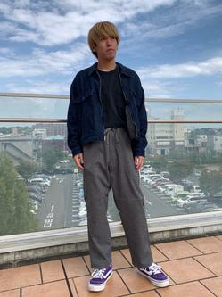 ららぽーと横浜のshoheiさんのLeeの【セットアップ対応】チェトパ ジャケットを使ったコーディネート