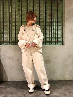 ルミネエスト新宿店のAyumiさんのLeeの【年間ベストセラー】オーバーオールを使ったコーディネート