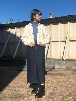 ルミネエスト新宿店のAyumiさんのLeeのSTANDARD WARDROBE スカートを使ったコーディネート