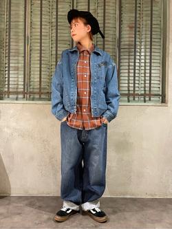 ルミネエスト新宿店のAyumiさんのLeeの【再値下げ Winter sale】91B デニムジャケットを使ったコーディネート