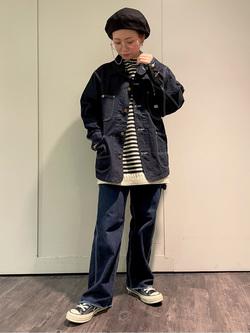 ルミネエスト新宿店のAyumiさんのLeeのカバーオールジャケットを使ったコーディネート