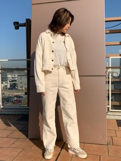 ららぽーと横浜のsatoさんのLeeの【トップス15%OFFクーポン対象】【セットアップ対応】STANDARD WARDROBE COWGIRL ジャケット(コーデュロイ)を使ったコーディネート