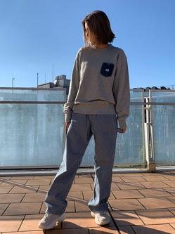 ららぽーと横浜のsatoさんのLeeの【Pre sale】【男女兼用】デニムポケット スウェットを使ったコーディネート