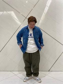 熊本COCOSA店のkazukiさんのLeeのワークシャツ 長袖を使ったコーディネート