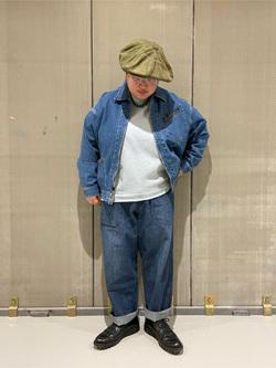 熊本COCOSA店のkazukiさんのLeeの【オールシーズン使える】ラクして決まる イージーワイドパンツを使ったコーディネート