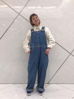 熊本COCOSA店のYUUKOさんのLeeのARCHIVES 40S ロコジャケットを使ったコーディネート