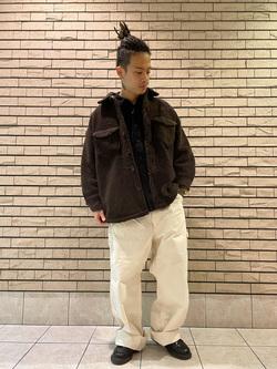 札幌パセオ店のgenさんのLeeの【トップス15%OFFクーポン対象】【ふっくらボア】CPO ジャケットを使ったコーディネート