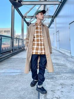 札幌パセオ店のgenさんのLeeのサービスコートを使ったコーディネート