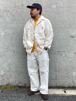 Lee アミュプラザ博多店のえんどうさんのLeeのカバーオールジャケットを使ったコーディネート