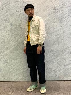 Lee アミュプラザ博多店のえんどうさんのLeeのARCHIVES 60S 100J WESTERNER JACKETを使ったコーディネート