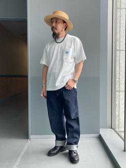 Lee アミュプラザ博多店のえんどうさんのLeeの【Archives】WWII 大戦モデル101 COWBOY PANTSを使ったコーディネート