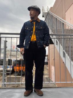 アミュプラザ長崎店のえんどうさんのLeeのストームライダー ジャケットを使ったコーディネート