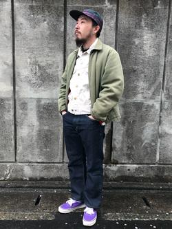 Lee アミュプラザ博多店のえんどうさんのLeeのAMERICAN RIDERS 101Z ストレートジーンズを使ったコーディネート