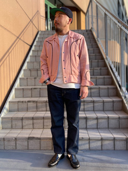 アミュプラザ長崎店のえんどうさんのLeeのAMERICAN RIDERS 101Z ストレートジーンズを使ったコーディネート
