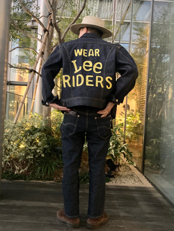 Lee アミュプラザ博多店のえんどうさんのLeeの【Winter sale】101 PROJECT RIDERS JACKETを使ったコーディネート