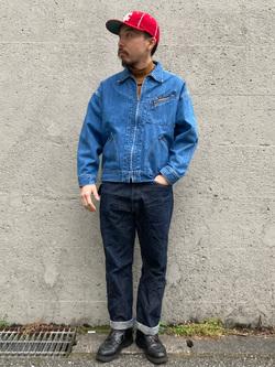 Lee アミュプラザ博多店のえんどうさんのLeeの【再値下げ Winter sale】91B デニムジャケットを使ったコーディネート