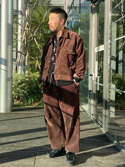 アミュプラザ博多店のえんどうさんのLeeの【セットアップ対応】チェトパ ジャケットを使ったコーディネート