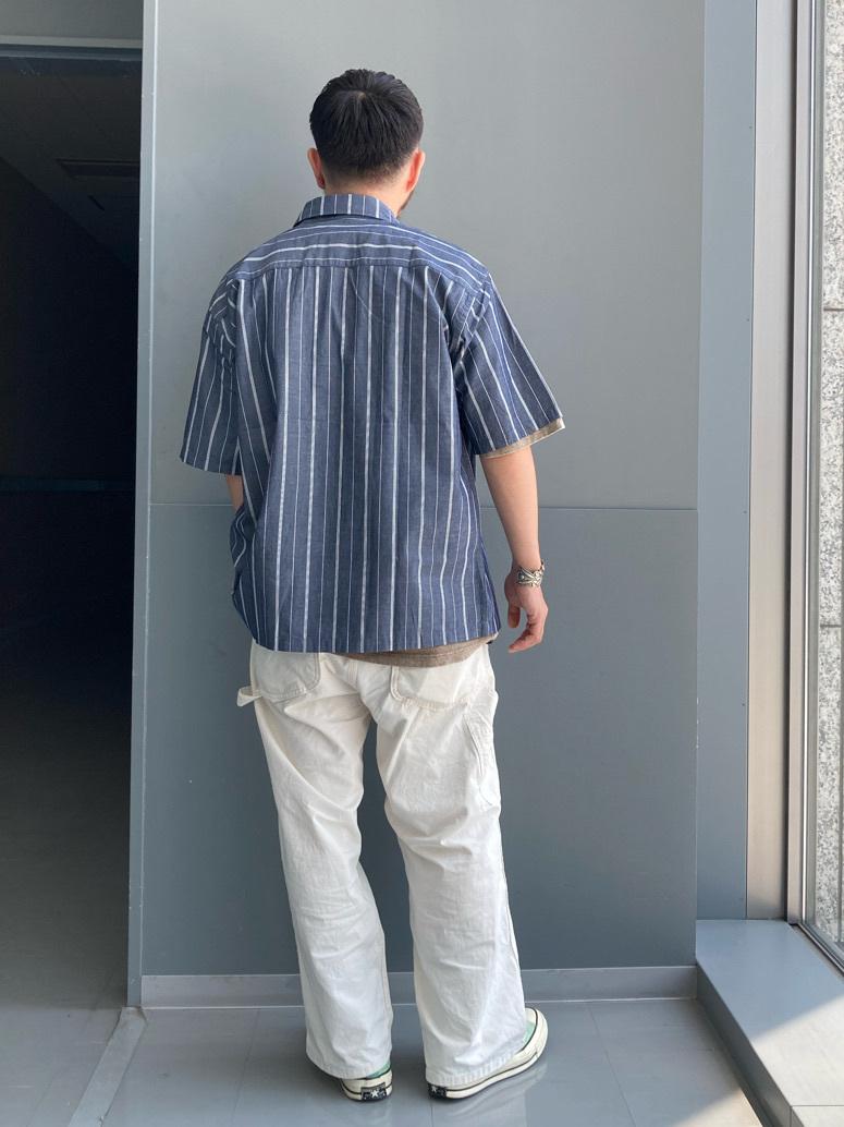 Lee アミュプラザ博多店のえんどうさんのLeeの【ユニセックス】DUNGAREES ペインターパンツを使ったコーディネート