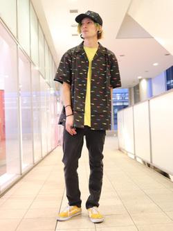 DENIM GALAXY日暮里店のYuさんのEDWINの503 スリムテーパード【レングス73cm】を使ったコーディネート