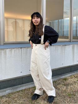 西宮ガーデンズ店のanさんのLeeの【直営店・WEB限定】ビッグポケット シャツジャケットを使ったコーディネート