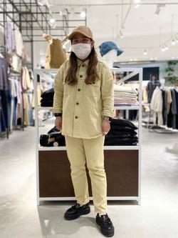 西宮ガーデンズ店のanさんのLeeの【SALE】【セットアップ対応】シャツジャケットを使ったコーディネート